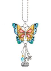Ganz Enjoy Every Moment Butterfly Car Charms - Life is a Journey