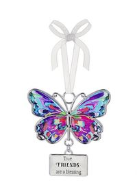 Ganz Butterfly Ornaments - True Friends are a Blessing
