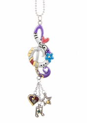 Ganz Car Charms - Treble Clef with Color