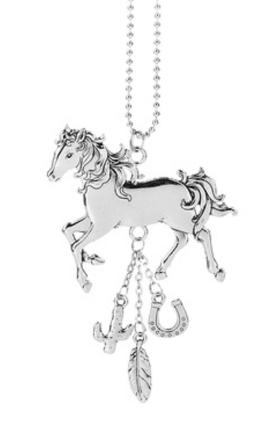 Ganz Car Charms - Horse with Feather, Cactus, Horseshoe