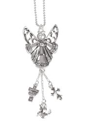 Ganz Car Charms - Angel and Dove