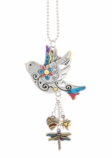 Ganz Car Charms - Bird with Color