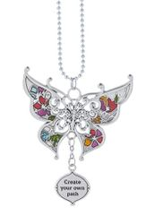 "Ganz Car Charms - Butterfly ""Create your own path"""