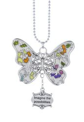 "Ganz Car Charms - Butterfly ""Imagine the possibilities"""