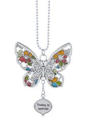 "Ganz Car Charms - Butterfly ""Today is special"""