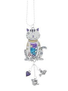 Ganz Car Charms - Color Art Cat