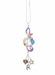 Ganz Car Charms - Color Art Treble Clef