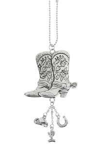 Ganz Car Charms - Cowboy Boots with Spurs