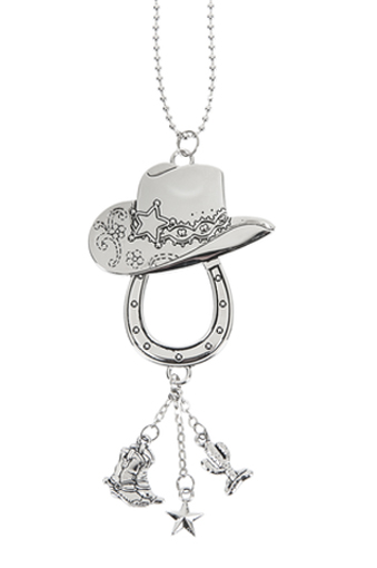 Ganz Car Charms - Cowboy Hat & Lucky Horseshoe