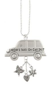 Ganz Car Charms - Mom's Taxi