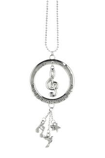 Ganz Car Charms - Music Note Treble Clef