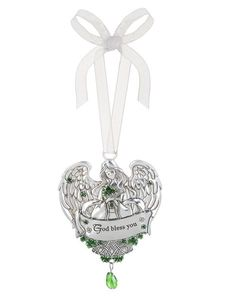 Ganz Celtic Blessing Ornaments - God Bless You
