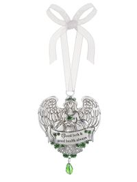 Ganz Celtic Blessing Ornaments - Good Luck and Good Health Always