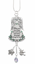 Ganz Celtic Car Charms - May You Have Hope for Each Day