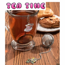 Ganz Charming Tea Infusers, Tea Strainers