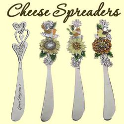 Cheese Spreaders, Butter Knives