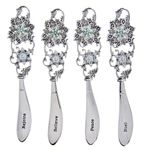 Ganz Christmas Holiday Snowflake Spreaders (Set of 4)