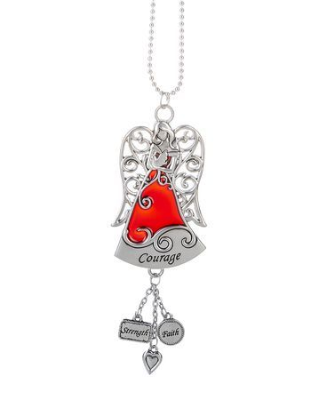 Ganz Colors of Faith Angel Car Charms - Courage
