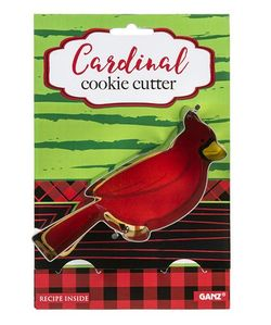 Ganz Cookie Cutters -  Cardinal