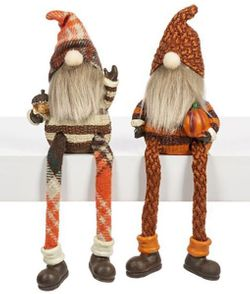 Ganz Fall Gnomes Shelf Sitters - Set of 2