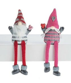 Ganz Gnomes in Love Shelf Sitters - Set of 2