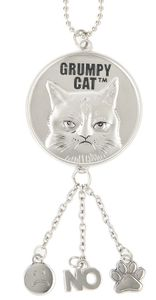Ganz Grumpy Cat Car Charms - Have a Nice Day