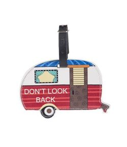 Ganz Happy Camper Luggage Tags - Don't Look Back
