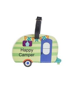 Ganz Happy Camper Luggage Tags - Happy Camper
