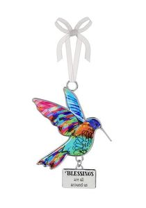 Ganz Hummingbird Ornaments - Blessings are all Around Us