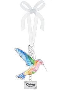 Ganz Hummingbird Ornaments - Kindness Matters