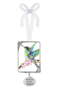 Ganz Hummingbird Ornaments - Thank you for your Kindness