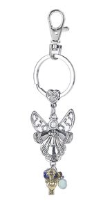 Ganz Key Rings, Keychains - Angel and Dove