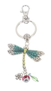 Ganz Key Rings, Keychains - Dragonfly with Color ER57880