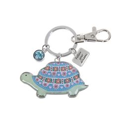 Ganz Key Rings - Happy Thoughts Turtles - Follow Your Dreams