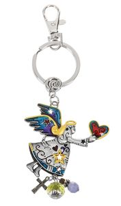 Ganz Key Rings, Keychains - Angel with Color