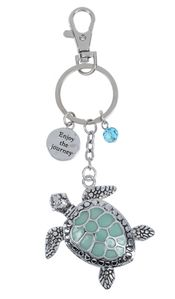 "Ganz Key Rings, Keychains - Turtle ""Enjoy the Journey"""