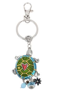 Ganz Key Rings, Keychains - Turtle with Color