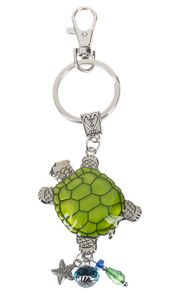 Ganz Key Rings, Keychains - Lucky Turtle with Color