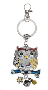 Ganz Key Rings, Keychains - Owl with Color