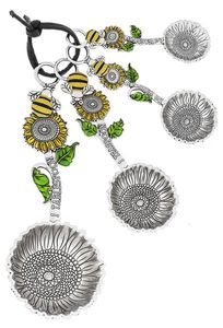 Ganz Measuring Spoons - Bumble Bees with Color