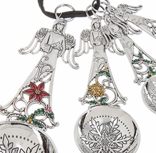 Ganz Measuring Spoons - Christmas Angels with Color