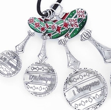 Ganz Measuring Spoons - Christmas Holiday Ornaments