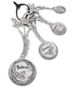 Ganz Dragonfly Measuring Spoons with Inspirational Words