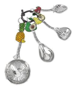 Ganz Measuring Spoons - Fruits with Color