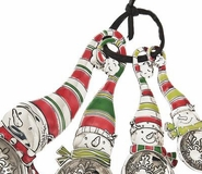 Ganz Measuring Spoons - Snowman with Colored Enamel