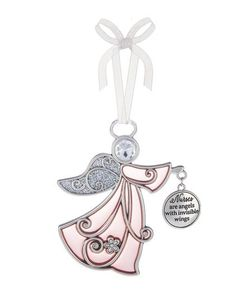 Ganz Ornaments - Nurses are Angels with Invisible Wings