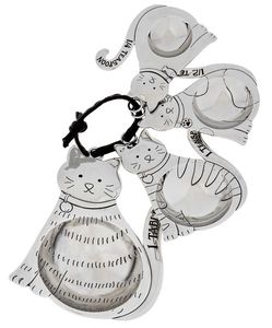 Ganz Petite Measuring Spoons - Cats