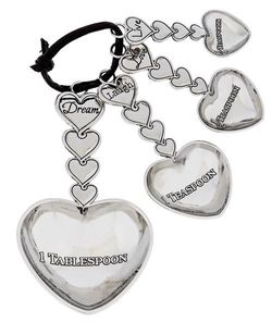 Ganz Petite Measuring Spoons - with Hearts