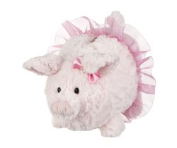 Ganz Portia Ballerina Plush Piggy Bank - 9""