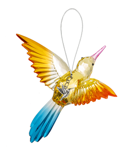 Ganz Radiant Hummingbird Ornament with Charm - Style D